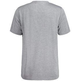 Maloja PrezM. All Mountain Shirt Korte Mouwen Heren, grey melange